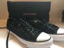 Converse Unisex Chuck Taylor Low Top Classic Black Sneakers Mens 5 Womens 7