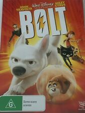 Bolt John Travolta, Miley Cyrus DVD Like New