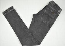 NUDIE JEANS Tight Long John Black Tears Womens Long Jeans N521 W28 L32