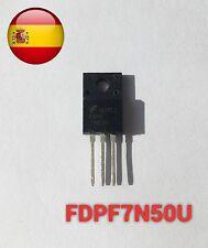 FDPF7N50U FDPF7N50 mosfet 500V N-channel to220f envío rápido desde España