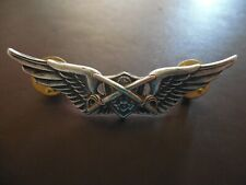 US Army Aviation Cavalry Wing Badge Air Crew Helicopter Cav Pin Lapel Insignia