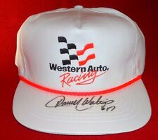 Vintage Darrell Waltrip signed Western Auto Racing Embroidered NASCAR Hat NEW