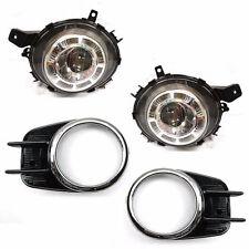 New Genuine OEM Fog Lamp Light Cover Assy 4pcs SET For Kia K3 Forte Koup 14-17