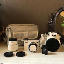 Nikon 1 J3 Camera BIG Kit w/ VR 10-30mm/30-110mm, WP-N2 Waterproof Case, & MORE!
