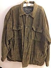 Vintage Abercrombie & Fitch Quality Outerwear Corduroy Coat Jacket Men's