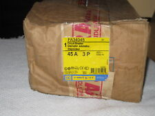 Square D 480 Volt 45 amp 3 Pole  I Line  Circuit Breaker FA34045 New In Box