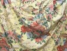 G.P Baker vintage Rockbirrd curtains, 73 inch drop