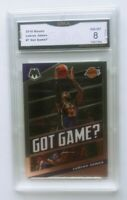 2020 Mosaic Basketball Lebron James Got Game? Graded NM-MT 8 GMA Lakers 🔥🔥🔥🔥