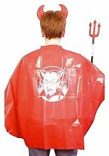 Childs Size Halloween Budget Red Devil Cape
