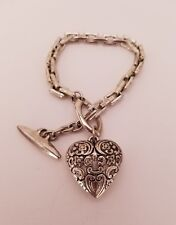 Bracelet Jewelry Nice Heart Design Used But In Good Condition