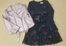 AS NEW Girls winter outfit size 6&7 Freshbaked dress and riders jacket