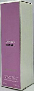 💝 Chanel Chance EAU FRAICHE Feuchtigkeit spendendes Körperspray 100 ml OVP/NEU