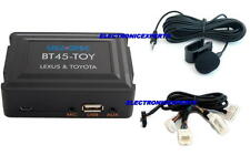 TOYOTA & LEXUS Bluetooth hands-free phone + streaming music kit Android/iPhone