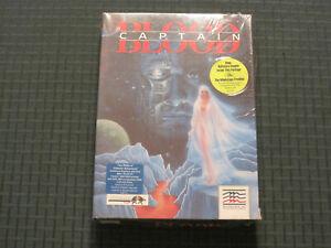 """1988 Captain Blood PC game (IBM Tandy) Mindscape Infogrames 5.25"""" Disk - sealed"""
