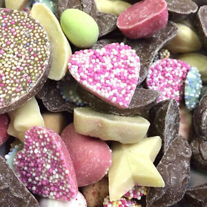 Chocolate Retro Sweets Sugar Candy Pick N Mix Kids Party Treats by Hannah's