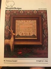Sheepish Designs My Christmas Sampler Counted Cross Stitch Pattern OOP C Daly