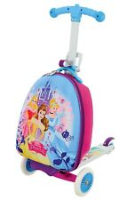 Disney Princess Scootcase 3-in-1 Scooter With Luggage Suitcase MV Sports Ages 3