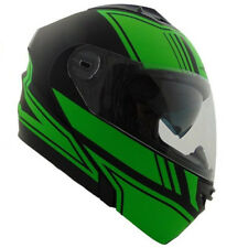 Vega Vertice Modular Flip Up Motorcycle Helmet Optic Green Adult Sizes