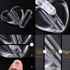 Acrylic Curve Tool Nail Art Pressed Mold Heart Bend Metal Slice Making Model