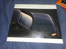 1987 Honda Acura Legend Coupe USA Market Brochure Catalog Prospekt