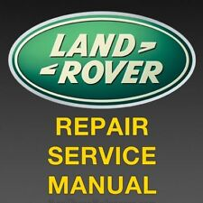 LAND ROVER Defender 2007 2008 2009 2010 2011 FACTORY REPAIR SERVICE MANUAL