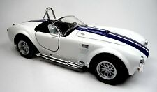 NEU: 1965 Ford Shelby Cobra 427 S/C Sammlermodell 1:32 weiß Neuware v. KINSMART
