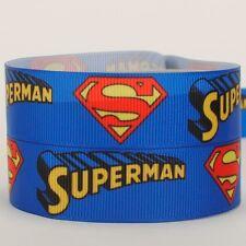 Decoración de Pasteles Artesanía Cinta Decoración De Cumpleaños - 50mm-Superman - 1m