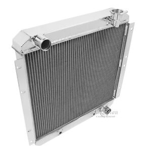 1978 1979 1980 Landcruiser Aluminum 3 Row Radiator Toyota Land Crusier Radiator
