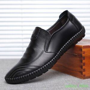 Moccasins Driving Shoes Dress Formal Leisure Loafer Men Slip on Soft Oxfords New