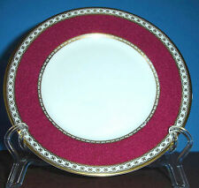 """Wedgwood Ulander Powder Ruby Bread & Butter Plate 7"""" Boxed New"""
