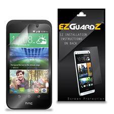 4X EZguardz LCD Screen Protector Skin Cover Shield HD 4X For HTC Desire 320