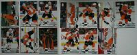 2019-20 Upper Deck UD Philadelphia Flyers Series 1 & 2 Team Set 13 Hockey Cards