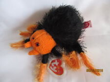 TY BEANIE PUNKIES SKITTERS - SPIDER  - MINT - RETIRED