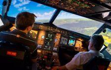Erlebnisgutschein Flugsimulator 60 Minuten Airbus A320 Dresden gültig bis 2020