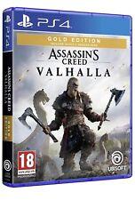 ASSASSIN'S CREED VALHALLA GOLD EDITION PS4 (Aggiornabile PS5) GIOCO EU ITA Disco