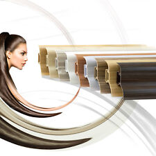 ab 20 Meter Sockelleisten Laminat 52x28mm Fussleisten Kunststoff mit Kabelkanal