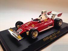 Niki Lauda Ferrari 312T #12 Formula 1 World Champion 1975 1:43 Scale IXO Altaya