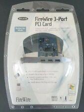 Belkin 3-Port PCI Card FireWire/IEEE 1394a Model# F5U503-APL Brand new sealed