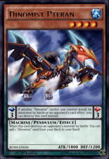 2016 Yu-Gi-Oh Breakers of Shadow #BOSHEN026 Dinomist Pteran R