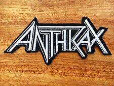 New Anthrax Sew Iron On Patch American Rock Band Music Logo Embroidered #01