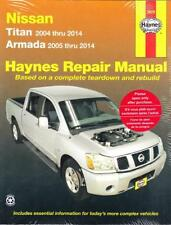 2004-2014 Nissan Titan/Armada Haynes Repair Service Workshop Manual Book 0956