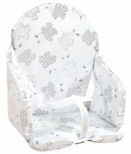 Coussin de Chaise Haute Confortable pour Bébés Enfants avec Sangles Motifs Lapin
