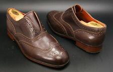Florsheim Duckie Brown  Laceless Wingtip Oxfords Leather Shoes Men's 9.5 D