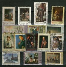 RUSSIA : 15 DIFF.PAINTINGS,X-TRA LARGE,COMMEMO.,FU., # 14