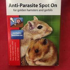 2 X Flea Tick Lice Mange Mite Roundworm Anti-parasite Hamsters Gerbils Mice