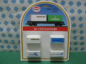 Container 20' - Échelle N - Model Power No. 1361 Neuf/New