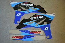 ONE INDUSTRIES DELTA  GRAPHICS  YAMAHA YZ250F YZF250 2010 2011 2012 2013 BLUE