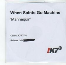 (DJ727) When Saints Go Machine, Mannequin - 2012 DJ CD