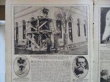 1916 Palästina Israel Eisengießerei Wagner Sarajewo