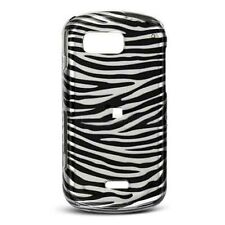 Silver Zebra Hard Case Snap on Cover Samsung Moment M900